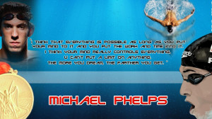 Swimming Quotes Michael Phelps Michael Phelps swim spa