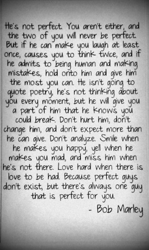 bob marley, cute, guys, love, quotes