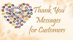 Thank you Messages for Customers