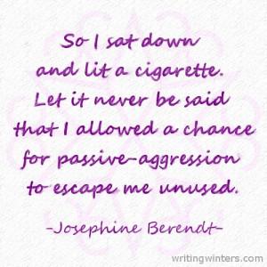 Passive Aggressive People Quotes