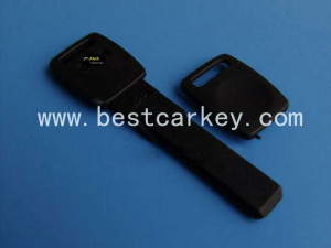 car key cover for Audi emergency key shell jpg