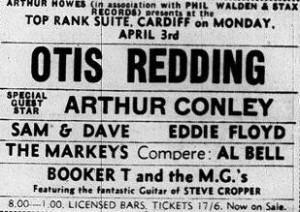 Otis Redding In Cardiff picture