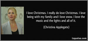 More Christina Applegate Quotes