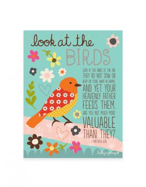 Bible Verses Birds