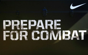 Nike Football Quotes | Prepare for Combat (Photo courtesy of Simone ...