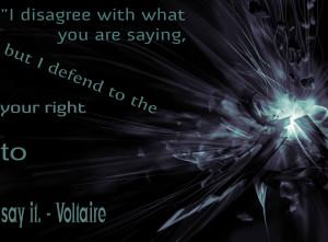 Democracy Quote - Voltaire
