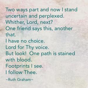 Ruth Graham poem