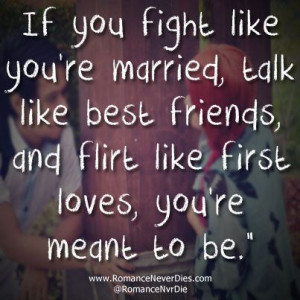 You're Meant To Be Love Quote
