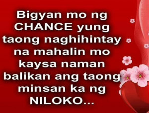 chance quotes incoming search terms quotes tagalog 5229 quotes about ...