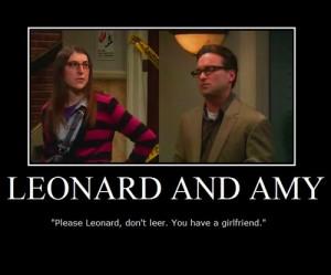 Leonard and Amy :] - the-big-bang-theory Fan Art