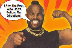 Mr. T Quote Of The Day