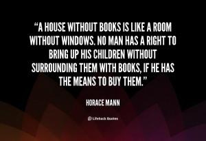 Books Horace Mann Quotes