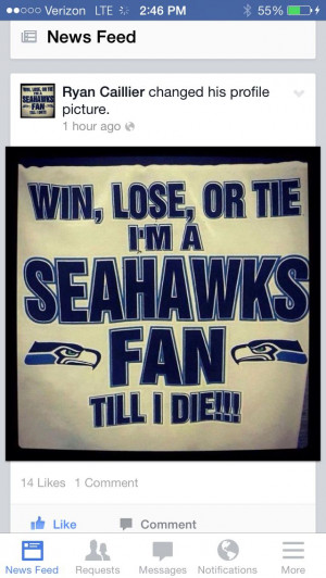 Seahawks Funny Quotes Seahawks fan