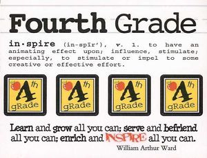 Details about SRM - 4th Grade Scrapbook Stickers - definition/ quote