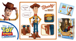 Sheriff Woody replica produced by Thinkway Toys was released in Fall ...