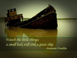http://www.desi44.com/quotes/wise-quotes/sinking-a-great-ship/
