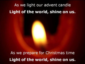 Advent candles are sometimes used liturgically