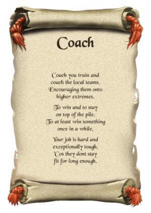 Coach Thank You Greeting...