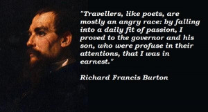 Richard francis burton quotes 2