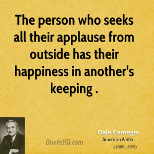 dale carnegie happiness quotes
