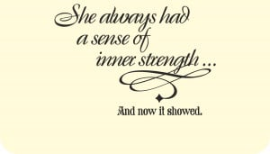 Inner Strength Quotes And Sayings Image is loading inner-strength-and ...