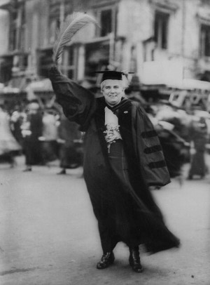 Anna Howard Shaw, a suffragist leader, 1920. Unknown photographer ...
