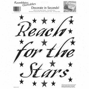 Reach For The Stars Wall Decals .