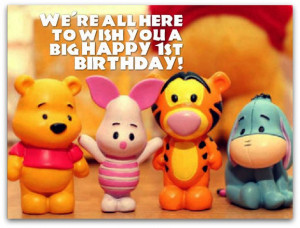 ... birthday wishes below happy birthday to a magical one year old who has