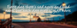 every day {Life Quotes Facebook Timeline Cover Picture, Life Quotes ...