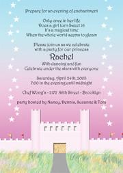 Sweet 16 Invites, Sweet Sixteen Party Invitations