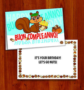 Italian Happy Birthday Buon
