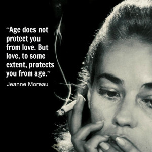 Jeanne Moreau - Movie Actor Quote - Film Actor Quote #jeannemoreau ...