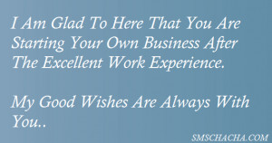 ... The Excellent Work Experience.My Good Wishes Are Always With You