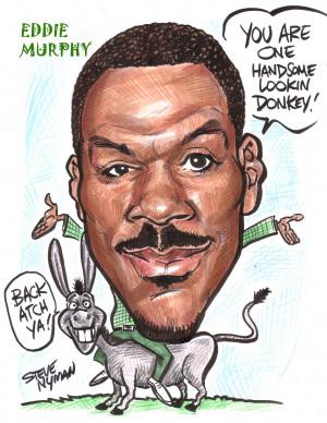 Eddie Murphy Eddie Murphy Caricature