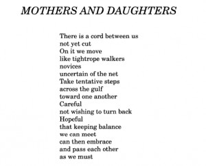 aseaofquotes.tumblr.comMaude Meehan, Mothers and