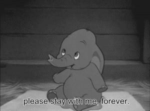 baby, cartoons, cute, elephant, forever, love, stay with me