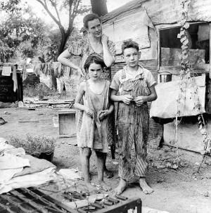 Dorothea Lange photo library -