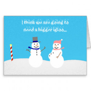 Holiday Expecting Mother Card