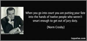Court Quotes