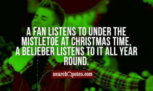 Belieber Quotes And Sayings A belieber listens to it