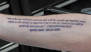 Famous Short Bible Quotes For Tattoos