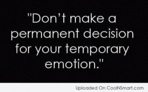 Emotion Quotes And Sayings
