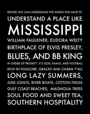 place like Mississippi