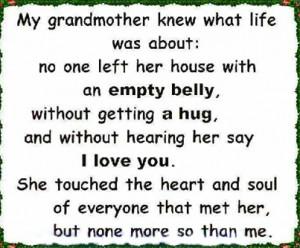 ... quotes quote family quote family quotes in memory grandparents grandma