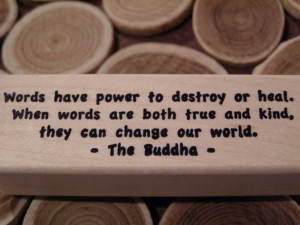 power of words