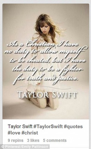 ... quotes of Taylor Swift, when in fact they are the quotes of Adolf
