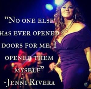 Jenni Rivera Quotes And Sayings Tumblr True statement, jenni rivera