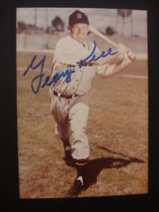 George Kell 3 1 2 X 5 Autographed Photo Picture