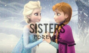 Frozen sisters forever