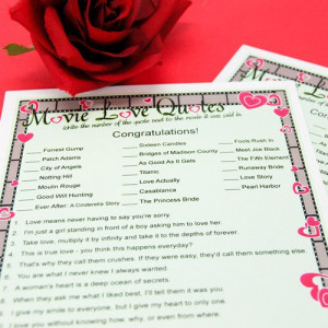games | personalized wedding games | love & hearts bridal shower games ...